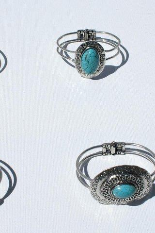 turkis sten smykker